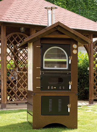 Clementi Canada Outdoor Wood Burning Ovens Barbeque